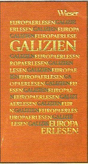 Europa Erlesen Galizien von Simonek,  Stefan, Woldan,  Alois