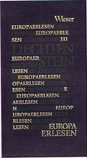Europa Erlesen Liechtenstein von Dittmar,  Jens