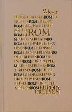 Europa Erlesen Rom von Niederle,  Helmuth A