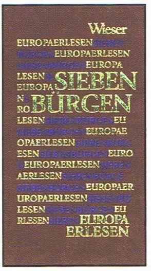Europa Erlesen Siebenbürgen von Aescht,  Georg