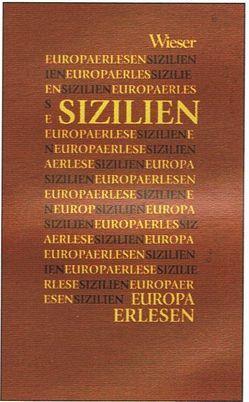 Europa Erlesen Sizilien von Bernhart,  Toni