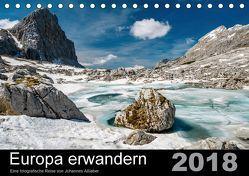 Europa erwandernAT-Version (Tischkalender 2018 DIN A5 quer) von Aßlaber,  Johannes