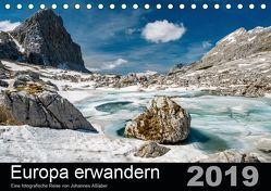 Europa erwandernAT-Version (Tischkalender 2019 DIN A5 quer) von Aßlaber,  Johannes