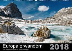 Europa erwandernAT-Version (Wandkalender 2018 DIN A2 quer) von Aßlaber,  Johannes