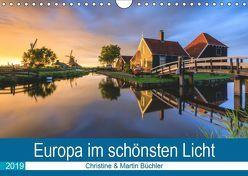 Europa im schönsten Licht (Wandkalender 2019 DIN A4 quer) von Büchler & Martin Büchler,  Christine