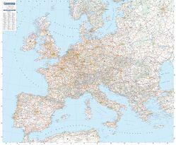 Europa Planoposter von MICHELIN