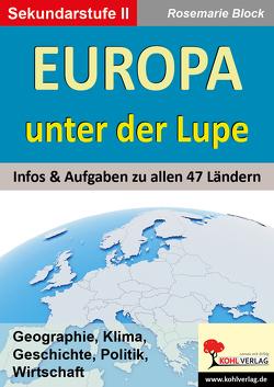Europa unter der Lupe von Block,  Rosemarie