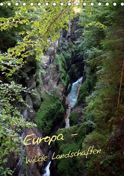 Europa – Wilde Landschaften (Tischkalender 2021 DIN A5 hoch) von Bildarchiv,  Geotop