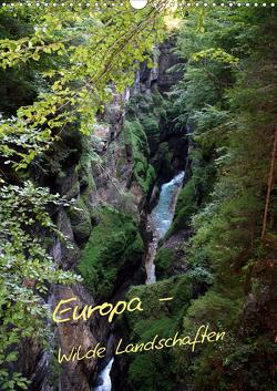 Europa – Wilde Landschaften (Wandkalender 2021 DIN A3 hoch) von Bildarchiv,  Geotop