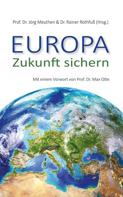 Europa – Zukunft sichern von Meuthen,  Jörg, Rothfuß,  Rainer