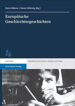 Europäische Geschlechtergeschichten von Bühner,  Maria, Möhring,  Maren