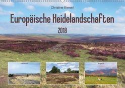 Europäische Heidelandschaften (Wandkalender 2018 DIN A2 quer) von Bienert,  Christine