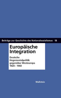 Europäische Integration von Sandkühler,  Thomas