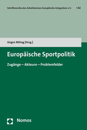 Europäische Sportpolitik von Mittag,  Jürgen