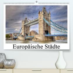 Europäische Städte (Premium, hochwertiger DIN A2 Wandkalender 2021, Kunstdruck in Hochglanz) von (Thorsten Jung),  TJPhotography