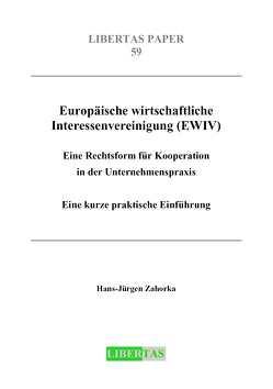 Europäische wirtschaftliche Interessenvereinigung (EWIV) von Zahorka,  Hans J