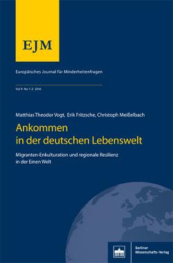 Europäisches Journal für Minderheitsfragen Heft 01-02/2016, Jg. 9 von Fritzschke,  Erik, Meißelbach,  Christoph, Vogt,  Matthias Theodor