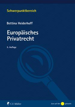 Europäisches Privatrecht von Heiderhoff,  Bettina