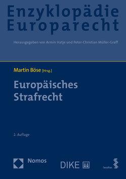 Europäisches Strafrecht von Böse,  Martin
