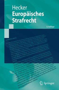 Europäisches Strafrecht von Hecker,  Bernd