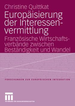 Europäisierung der Interessenvermittlung von Quittkat,  Christine