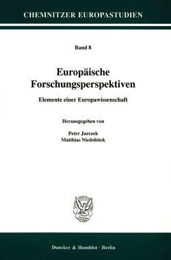 Europäische Forschungsperspektiven. von Jurczek,  Peter, Niedobitek,  Matthias