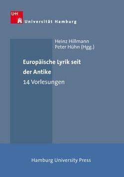 Europäische Lyrik seit der Antike von Hillmann,  Heinz, Hühn,  Peter