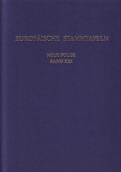 Europäische Stammtafeln. Neue Folge von Schwennicke,  Detlev