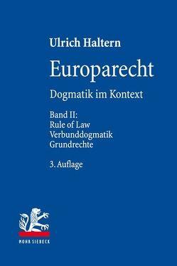 Europarecht von Haltern,  Ulrich