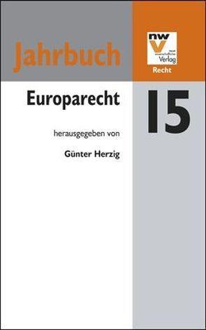 Europarecht von Herzig,  Günter