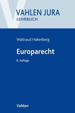 Europarecht von Hakenberg,  Waltraud