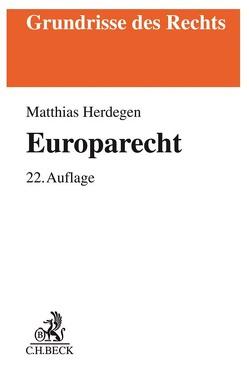 Europarecht von Herdegen,  Matthias