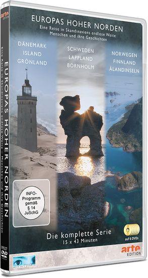 Europas Hoher Norden (Box) von Hauke,  Wilfried