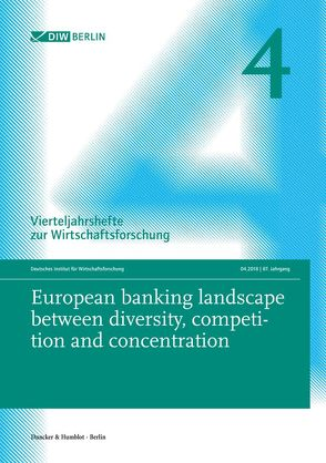 European banking landscape between diversity, competition and concentration.