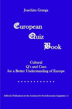 European Quiz Book von Grzega,  Joachim