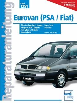 Eurovan (PSA/Fiat) – Peugeot 806 & Expert / Citroën Evasion & Jumpy