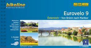 Eurovelo 9 von Esterbauer Verlag