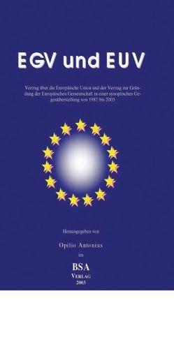 EUV und EGV von Opilio,  Antonius