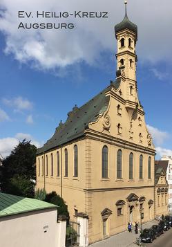 Ev. Heilig-Kreuz Augsburg Kirchenführer von Wallenta,  Wolfgang