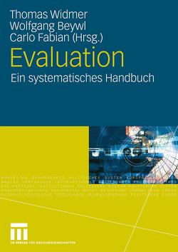 Evaluation von Beywl,  Wolfgang, Fabian,  Carlo, Widmer,  Thomas
