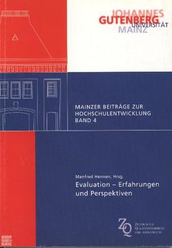 Evaluation – Erfahrungen und Perspektiven von Hennen,  Manfred