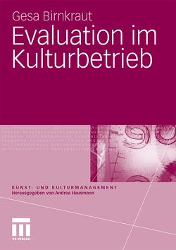 Evaluation im Kulturbetrieb von Birnkraut,  Gesa
