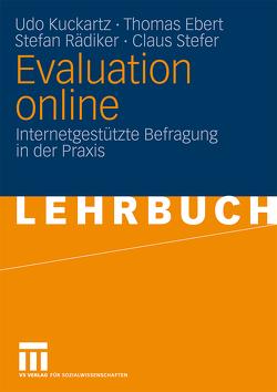Evaluation online von Ebert,  Thomas, Kuckartz,  Udo, Rädiker,  Stefan, Stefer,  Claus