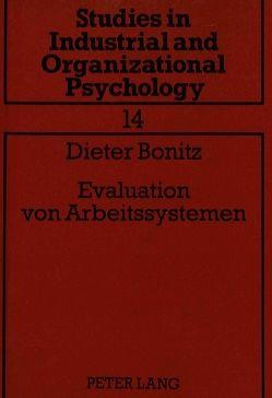 Evaluation von Arbeitssystemen von Bonitz,  Dieter