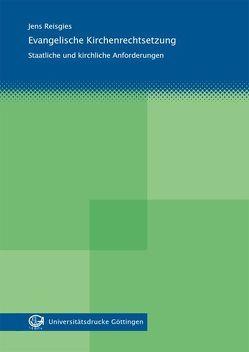 Evangelische Kirchenrechtsetzung von Reisgies,  Jens