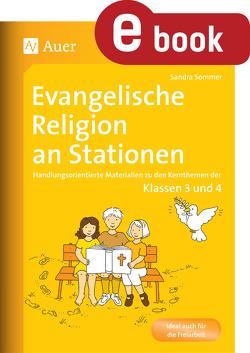 Evangelische Religion an Stationen von Kraus,  Sandra