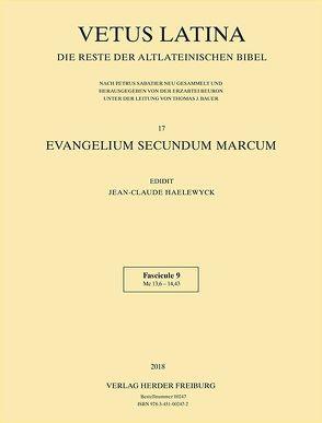 Evangelium secundum Marcum von Haelewyck,  Jean-Claude