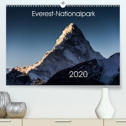 Everest-Nationalpark (Premium, hochwertiger DIN A2 Wandkalender 2020, Kunstdruck in Hochglanz) von Koenig,  Jens