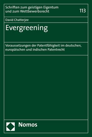 Evergreening von Chatterjee,  David