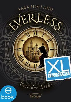 Everless. Zeit der Liebe – XL Leseprobe von Holland,  Sara, Knuffinke,  Sandra, Komina-Scholz,  Jessika, Schürmann,  Kerstin